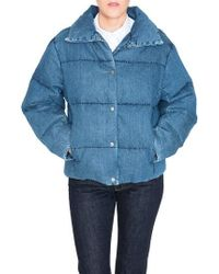 PRPS - Denim Down Puffer Jacket - Lyst