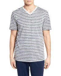 Daniel Buchler - Reverse Stripe T-shirt - Lyst