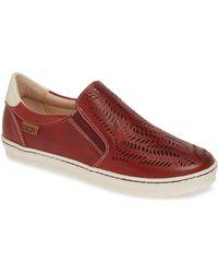 Pikolinos - Lagos Perforated Slip-on Sneaker - Lyst