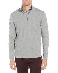 Zachary Prell - Higgins Quarter Zip Sweater - Lyst