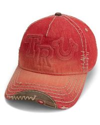 True Religion | Denim Baseball Cap | Lyst