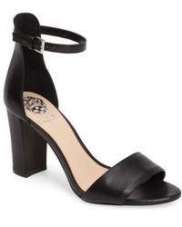 Vince Camuto - Corlina Leather Sandal - Lyst