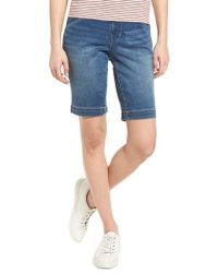 Jag Jeans - Ainsley Bermuda Jean Shorts - Lyst