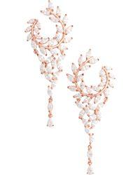Nina - Fern Chandelier Drop Earrings - Lyst