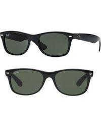 983aadee41c92 Lyst - Ray-Ban  classic Wayfarer  50mm Sunglasses in Black