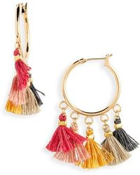 Shashi - Sashi Lilu Hoop Earrings - Lyst