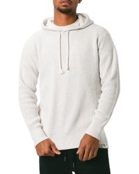 Zanerobe - Waffle Knit Pullover Hoodie - Lyst