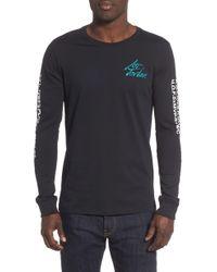 d4287080216285 Lyst - Nike Air Jordan Jsw Logo Tee  quai 54  in Black for Men