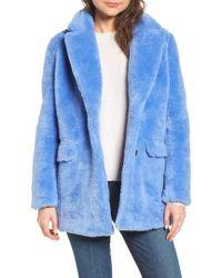 J.Crew | J.crew Yuna Teddy Faux Fur Jacket | Lyst