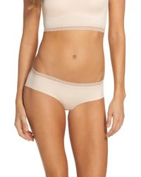 Naked - Almost Lace Trim Hipster Briefs - Lyst