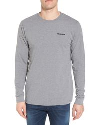 8e630d15664 Lyst - Patagonia R0 Sun Long-sleeve T-shirt in Gray for Men