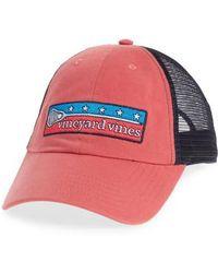 Vineyard Vines - Low Profile Lax Patch Trucker Hat - - Lyst