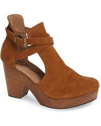 d14c0daa06a Lyst - Kenneth Cole Reaction Seeking Cedar Wedge Sandals in Black