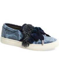 Marc Jacobs - Mercer Embellished Slip-on Sneaker - Lyst