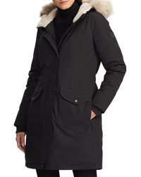 Lauren by Ralph Lauren - Expedition Down & Feather Fill Hooded Parka - Lyst