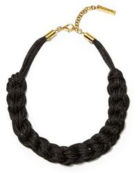 Lafayette 148 New York - Braided Mesh Necklace - Lyst