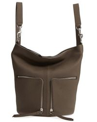 AllSaints - Small Fetch Leather Backpack - Lyst