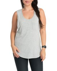 Bun Maternity - Pocket Maternity/nursing Tank - Lyst