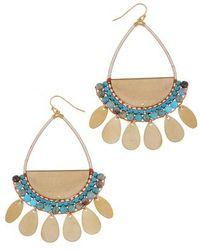 Nakamol - Stone Palette Drop Earrings - Lyst