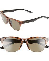 336545a37400 Smith - Haywire 55mm Chromapoptm Polarized Sunglasses - Honey Tortoise   Green - Lyst