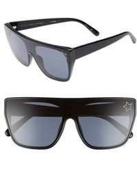 Stella McCartney - 99mm Flat Top Sunglasses - Lyst