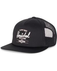 bcca3a26456f5 Lyst - Herschel Supply Co. Whaler Mesh Patch in Black for Men
