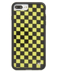 Wildflower - Checkerboard Iphone 6/7/8 Plus Case - - Lyst