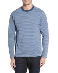 Thaddeus - Iverson Long Sleeve Striped T-shirt - Lyst