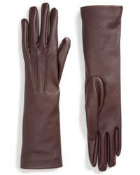 Stella McCartney - Faux Leather Gloves - Lyst