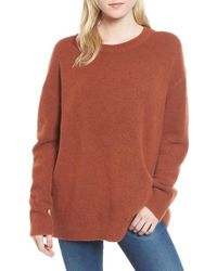James Perse - Oversize Cashmere Sweater - Lyst