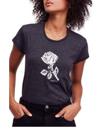 Free People - We The Free By Rose Graphic Tee - Lyst