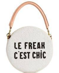 Clare V. - Le Freak Beaded Circle Clutch - - Lyst