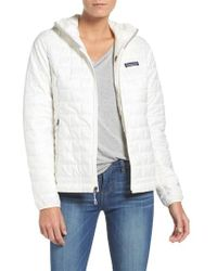 Patagonia - Nano Puff Hooded Water Resistant Jacket - Lyst