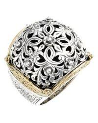 Konstantino | 'silver & Gold Classics' Filigree Ring | Lyst