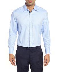 English Laundry - Regular Fit Solid Dress Shirt - Lyst
