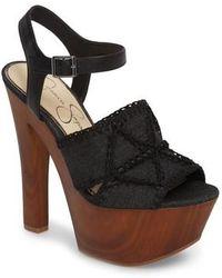 Jessica Simpson - Dezzie Platform Sandal - Lyst