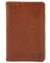 Frye - Oliver Leather Wallet - - Lyst
