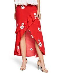 Bardot - Freida Ruffle Skirt - Lyst