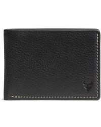 Trask - 'jackson' Super Slim Leather Wallet - Lyst