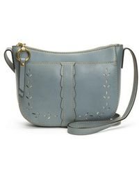 Frye - Ilana Peforated Leather Crossbody Bag - - Lyst