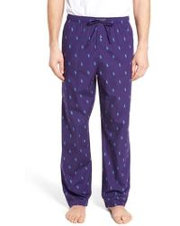 Ralph Lauren | Polo Cotton Lounge Pants | Lyst