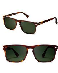 MVMT - Reveler 57mm Polarized Sunglasses - Whiskey Tortoise - Lyst