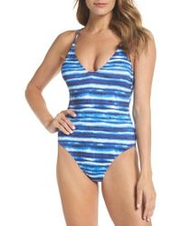 La Blanca - Strappy Back One-piece Swimsuit - Lyst