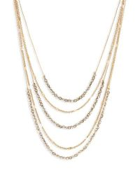 BaubleBar - Alandra Layered Chain Necklace - Lyst