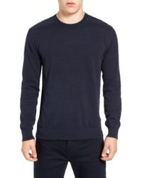 French Connection | Nylon Trim Pullover | Lyst