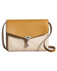 Burberry - Small Macken Colorblock Leather Crossbody Bag - Lyst
