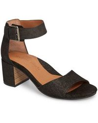 Gentle Souls - By Kenneth Cole Christa Block Heel Sandal - Lyst