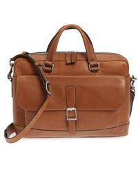 Frye - Oliver Leather Briefcase - - Lyst