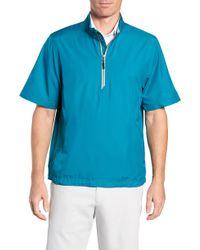 Cutter & Buck - Half Zip Short Sleeve Pullover - Lyst