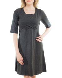 Nurture-Elle | Crossover Maternity/nursing Dress | Lyst